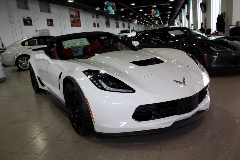 pre owned 2017 chevrolet corvette grand sport 1lt convertible in manchester m25802 quirk. Black Bedroom Furniture Sets. Home Design Ideas